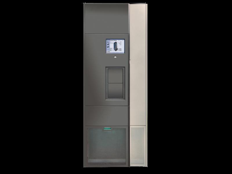 Библиотека расширения HPE T950V, 3 блока отсеков накопителей с технологией TS (максимум 12) для разных шасси, 684 слота Center facing