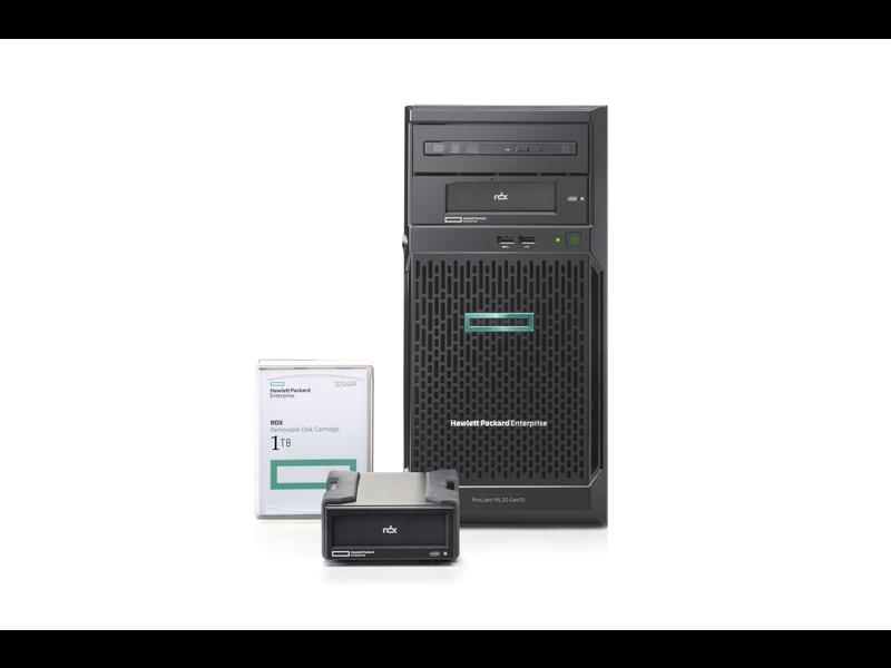 Serveur HPE ProLiant ML30 Gen10 E-2224 offre PME Center facing