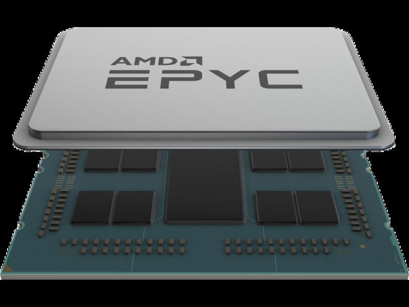 适用于 HPE Apollo 6500 Gen10 Plus 的 AMD EPYC 7502P 2.5GHz 32 核 180 瓦处理器套件 Center facing