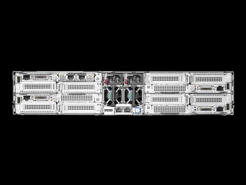HPE Apollo n2600 Gen10 Plus 小型按订单配置机箱 Rear facing
