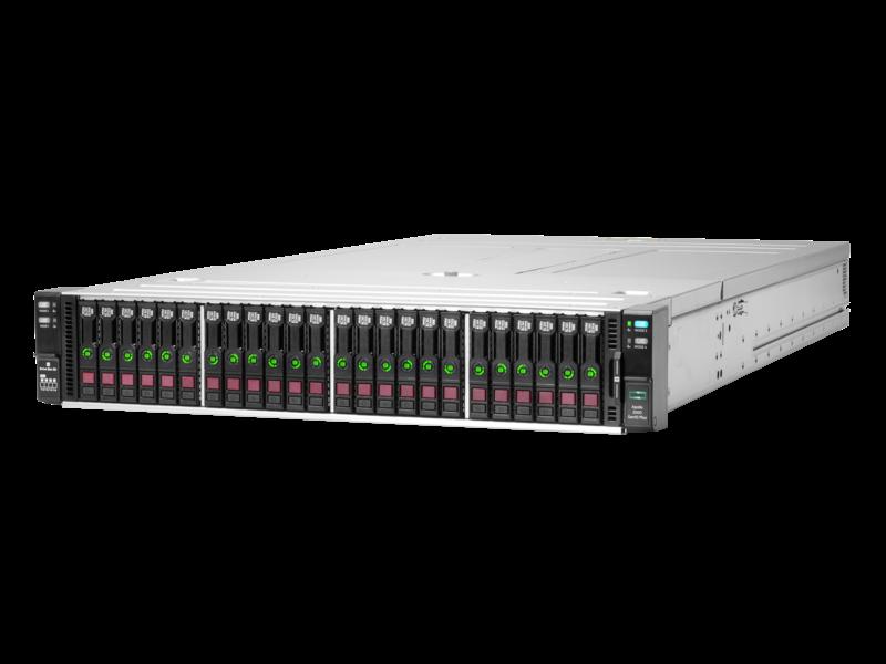 HPE Apollo n2600 Gen10 Plus 小型按订单配置机箱 Left facing