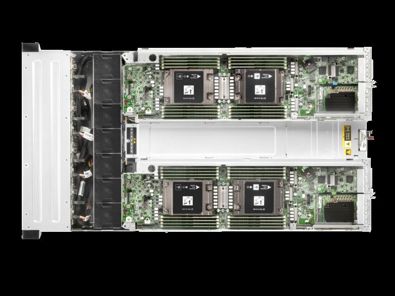 HPE Apollo n2600 Gen10 Plus 小型按订单配置机箱 Detail view