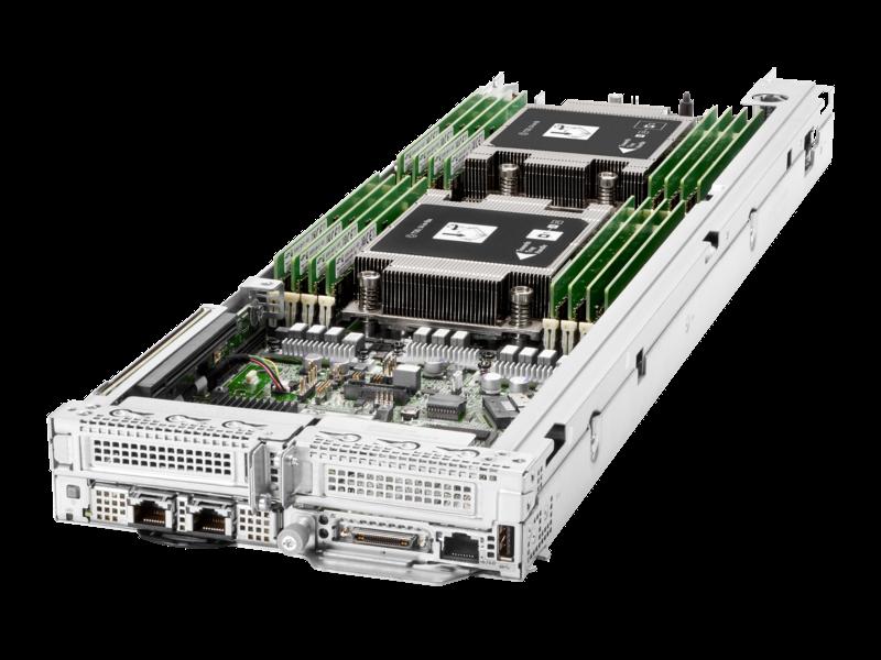 HPE ProLiant XL225n Gen10 Plus 1U Node Configure-to-order Server Left facing