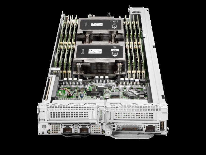 HPE ProLiant XL225n Gen10 Plus 1U Node Configure-to-order Server Center facing