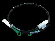Câble en cuivre à connexion directe HPE X240 100G QSFP28 vers QSFP28 de 1 m