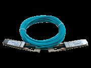 HPE X2A0 40G QSFP+ 转 QSFP+ 10 米有源光缆