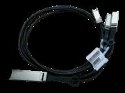 Câble en cuivre à connexion directe HPE X240 QSFP28 4xSFP28, 1 m