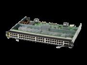 Aruba 6400 48 端口 HPE Smart Rate 1/2.5/5 千兆以太网第 6 类 PoE 和 4 端口 SFP56 模块