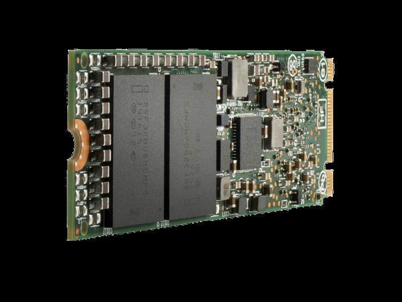 HPE SATA 混合用途固态硬盘 Left facing