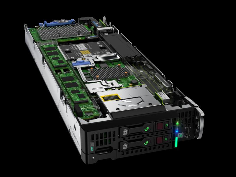 HPE ProLiant BL460c Gen10サーバーブレード Hero