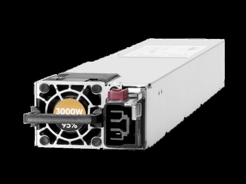 HPE 3000 瓦(200-277 伏交流电)铂金级热插拨电源 Left facing