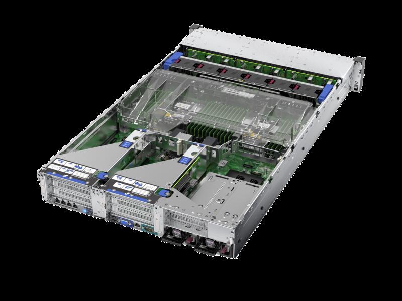HPE ProLiant DL560 Gen10 5220 2P 64GB-R P408i-a 8SFF 1600 瓦冗余电源服务器 Detail view
