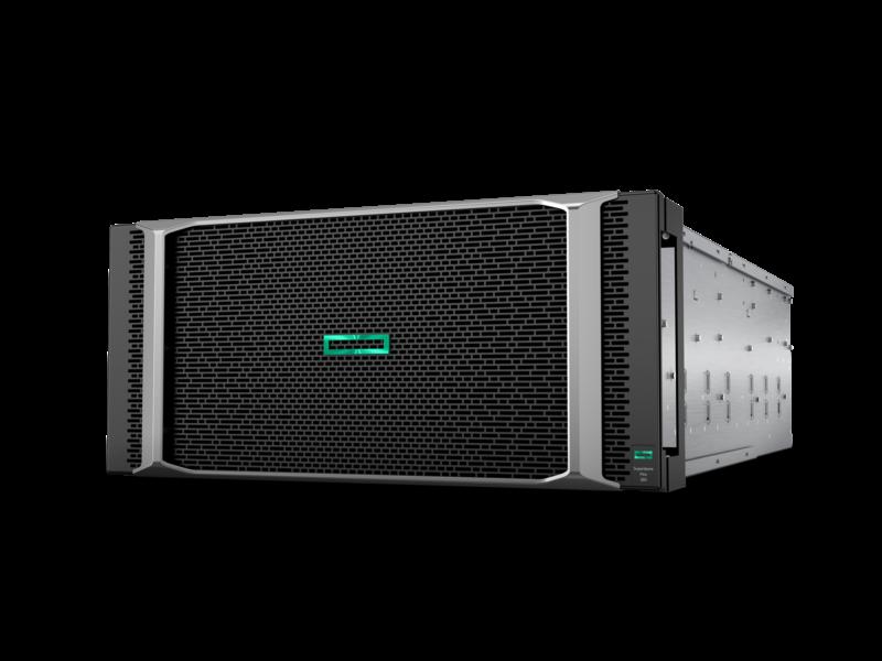 HPE Superdome Flex 280 服务器 Left facing