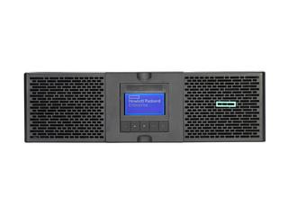Onduleur en ligne double conversion pour montage en rack HPE Center facing