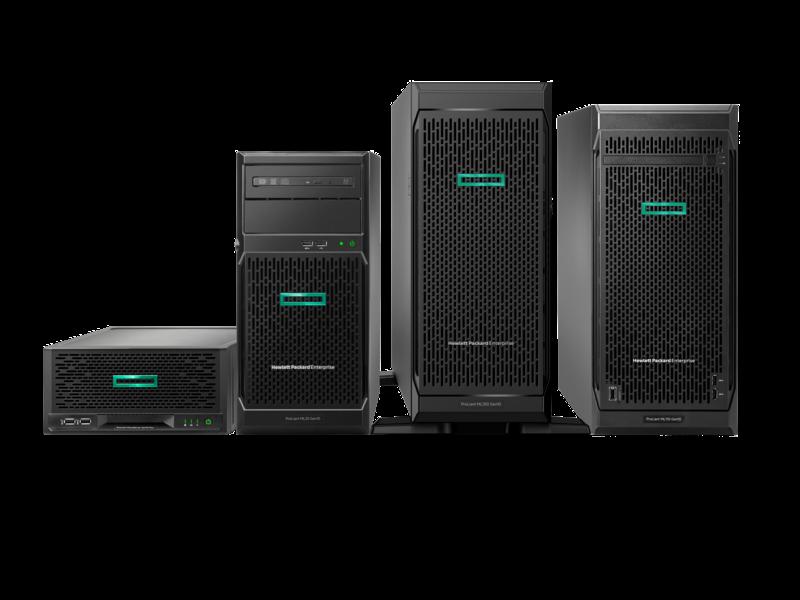 HPE ProLiant MicroServer Gen10 Plus G5420 8GB-U S100i 4LFF 非热插拔 180 瓦外接电源服务器 Center facing