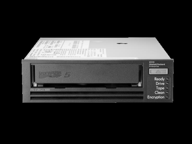 Lecteur de bande interne SAS HPE StoreEver LTO-5 Ultrium 3000 Center facing
