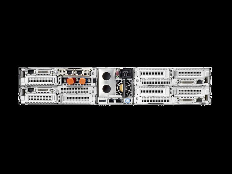 HPE ProLiant XL225n Gen10 Plus 1U Node Configure-to-order Server Rear facing