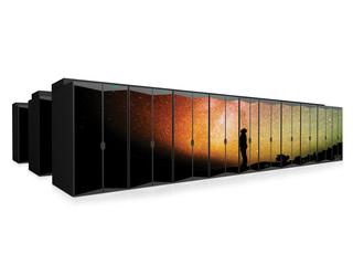 Superordinateurs HPE Cray Center facing