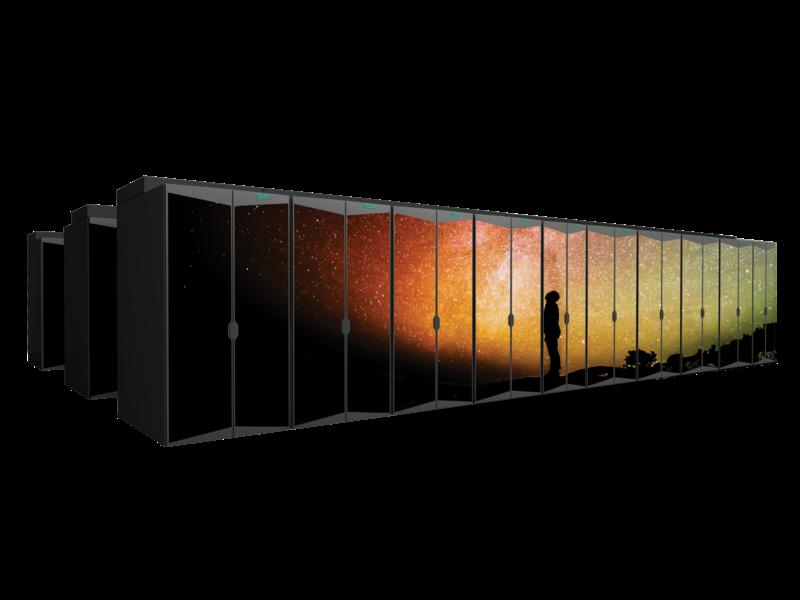 HPE Cray 超级计算机 Center facing