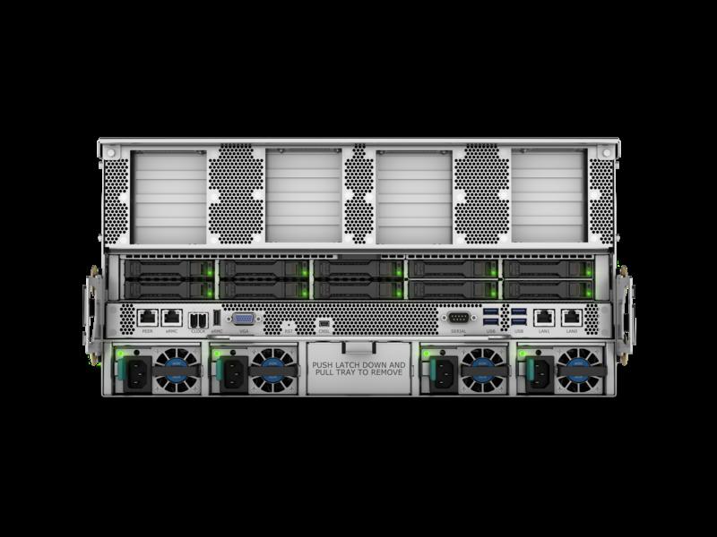 HPE Superdome Flex 280 服务器 Rear facing