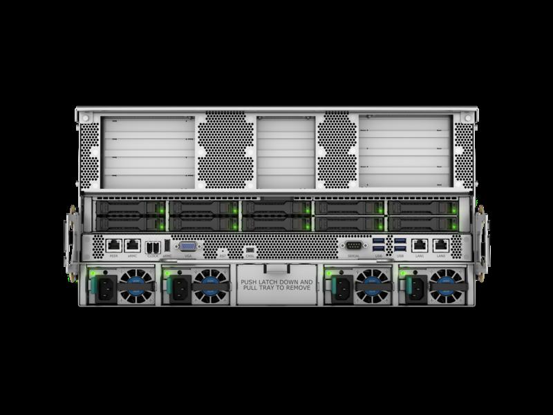 HPE Superdome Flex 280 for SAP HANA Rear facing