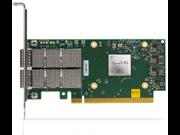 适用于 HPE 产品的 Mellanox MCX623106AS-CDAT 100 千兆以太网双端口 QSFP56 适配器