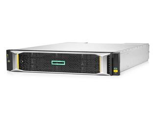 HPE MSA 2060 16GbファイバーチャネルLFFストレージ Left facing