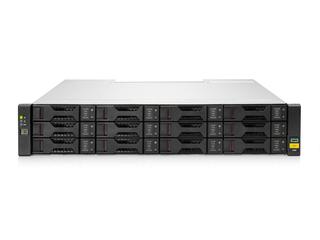 HPE MSA 2060 16GbファイバーチャネルLFFストレージ Right facing