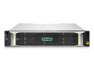 HPE MSA 2060 16GbファイバーチャネルLFFストレージ Center facing