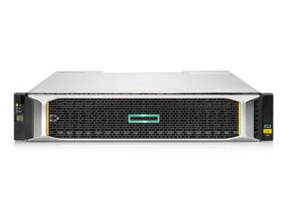 HPE MSA 2060 10GbE iSCSI SFFストレージ Center facing