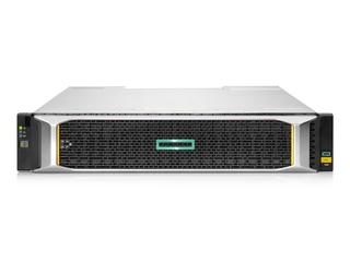 HPE MSA 1060 10GBASE-T iSCSI SFFストレージ Center facing
