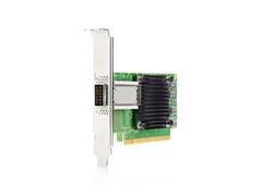 HPE 100 千兆以太网单端口 QSFP28 PCIe3 x16 MCX515A-CCAT 适配器