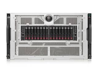 HPE XL675d Gen10 Plus 10 个双宽 PCIe 和 16 个单宽 PCIe 加速器托架 Center facing