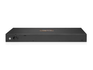 Aruba 6100 24G 4SFP+スイッチ Rear facing