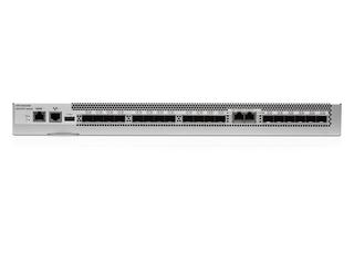 HPE SN2600B 32Gb 12/12 Power Pack+ 12ポート16Gb短波SFP+ SAN拡張スイッチ Center facing
