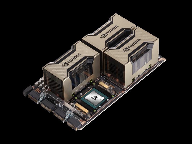 适用于 HPE 产品的 NVIDIA A100 HGX x4 GPU 空气冷却基板 Left facing