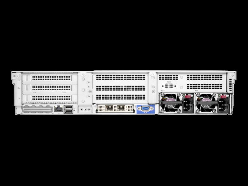 Serveur HPE ProLiant DL385 Gen10 Plus v2 7313 2.9 GHz 16 cœurs 1 Processeur 32GO-R 8 lecteurs à petit facteur de forme Module d'alimentation 800 W Rear facing