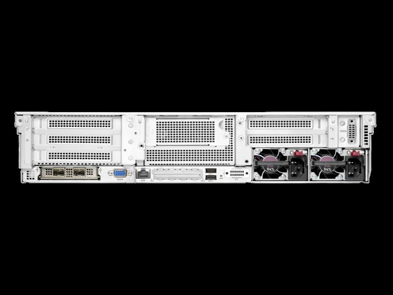 Serveur HPE ProLiant DL345 Gen10 Plus 7232P 3.1GHz 8 cœurs 1P 32GO-R 8 lecteurs à grand facteur de forme Module d'alimentation 500 W Rear facing