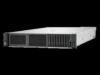 HPE ProLiant DL345 Gen10 Plus 7443P 2.85GHz 24-core 1P 32GB-R 8SFF 800W PS Server Left facing