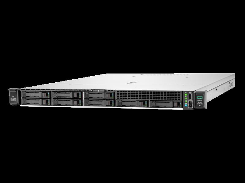 HPE ProLiant DL325 Gen10 Plus v2 7313P 3.0GHz 16-core 1P 32GB-R 8SFF 500W PS Server Left facing