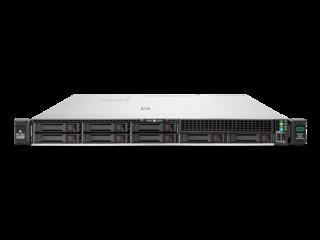 Serveur HPE ProLiant DL365 Gen10 Plus 7262 3.2 GHz 8 cœurs 1 Processeur 32GO-R 8 lecteurs à petit facteur de forme Module d'alimentation 500 W Center facing