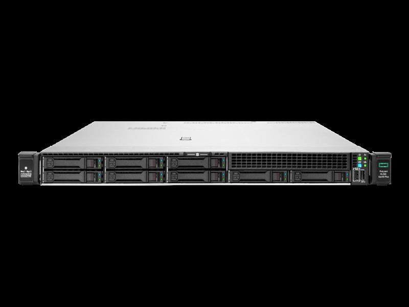 Serveur HPE ProLiant DL365 Gen10 Plus 7513 2.6 GHz 32 cœurs 1 processeur 32 Go-R 8 lecteurs à petit facteur de forme Module d'alimentation 800 W Center facing