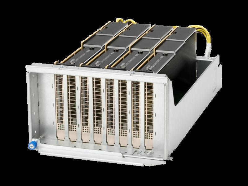 适用于 HPE 产品的 AMD Instinct MI100 PCIe 图形加速器 Left facing