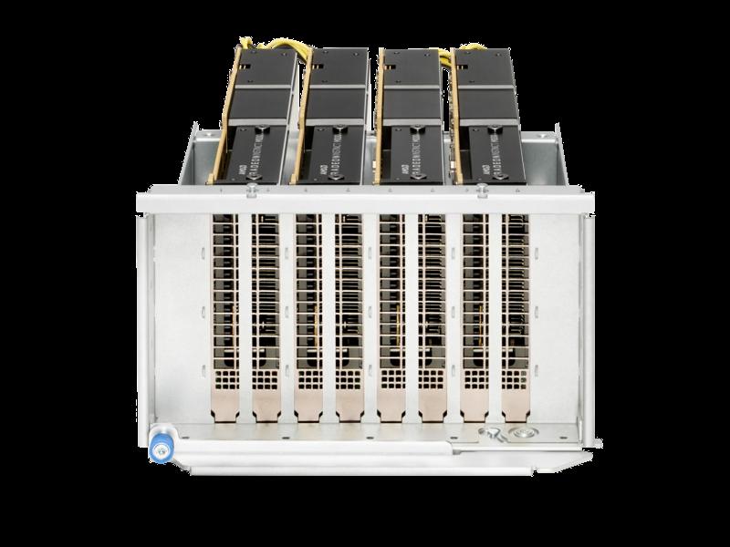 适用于 HPE 产品的 AMD Instinct MI100 PCIe 图形加速器 Rear facing