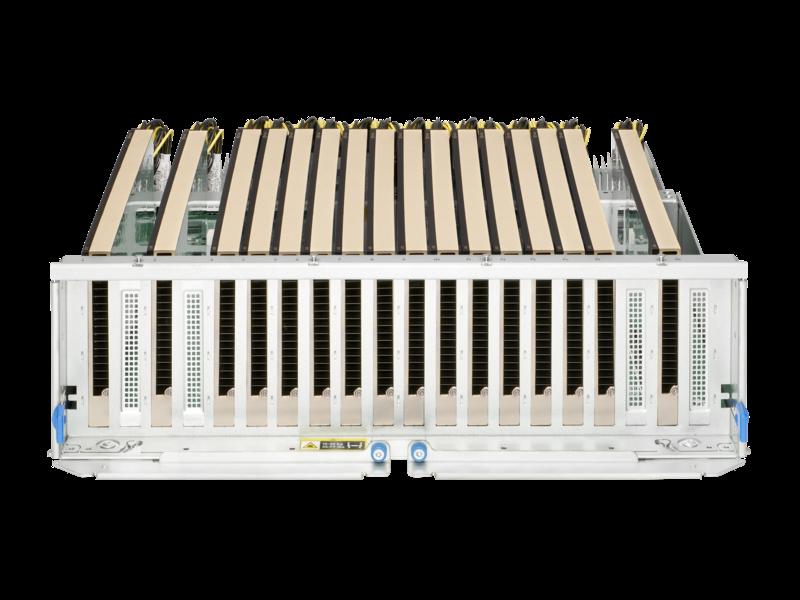适用于 HPE 产品的 NVIDIA A10 24 GB PCIe 图形加速器 Rear facing