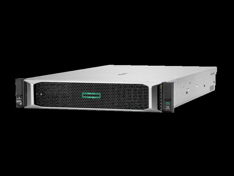 Serveur HPE ProLiant DL380 Gen10 Plus 4314 2.4 GHz 16 cœurs 1 processeur 32 Go-R P408i-a NC BCM57412 8 lecteurs à petit facteur de forme Module d'alimentation 800 W Right facing