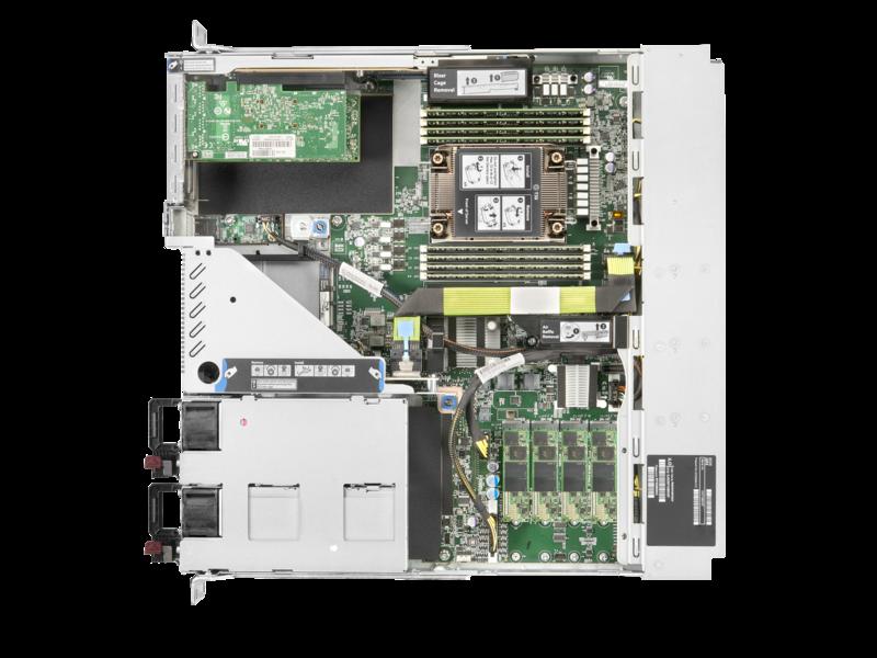 Serveur Télécom HPE ProLiant DL110 Gen10 Plus Top view open