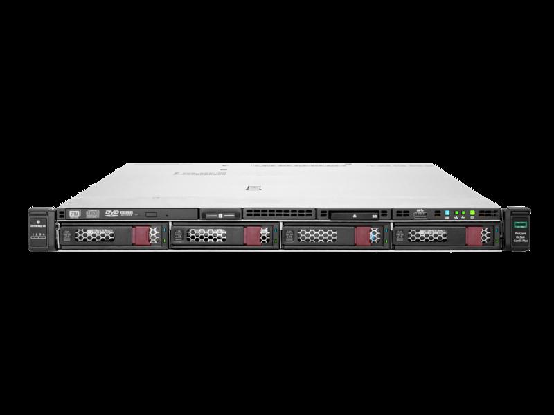HPE ProLiant DL360 Gen10 Plus 4309Y 2.6GHz 8-core 1P 32GB-R P408i-a NC 4LFF 800W PS Server Center facing