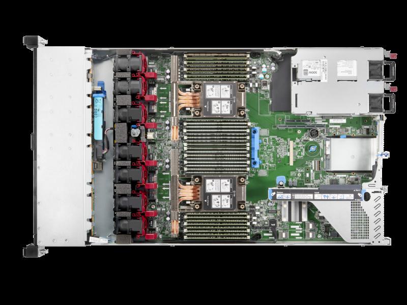 Serveur HPE ProLiant DL360 Gen10 Plus 4314 2.4 GHz 16 cœurs 1 processeur 32 Go-R P408i-a NC 8 lecteurs à petit facteur de forme Module d'alimentation 800 W Detail view