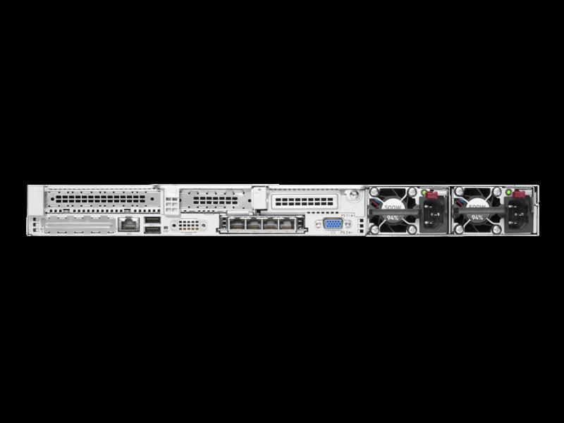 Serveur HPE ProLiant DL360 Gen10 Plus 4314 2.4 GHz 16 cœurs 1 processeur 32 Go-R P408i-a NC 8 lecteurs à petit facteur de forme Module d'alimentation 800 W Rear facing